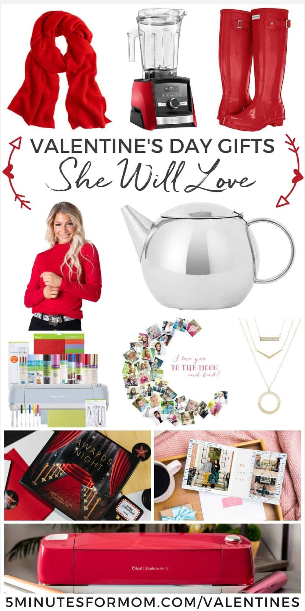 Valentines Day Gifts She Will Love - Gift Ideas for Women