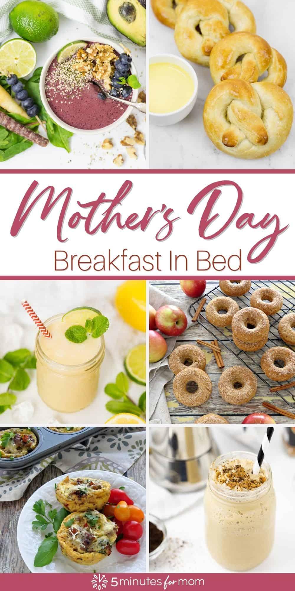 Mothers Day Breakfast In Bed - Recipe Ideas