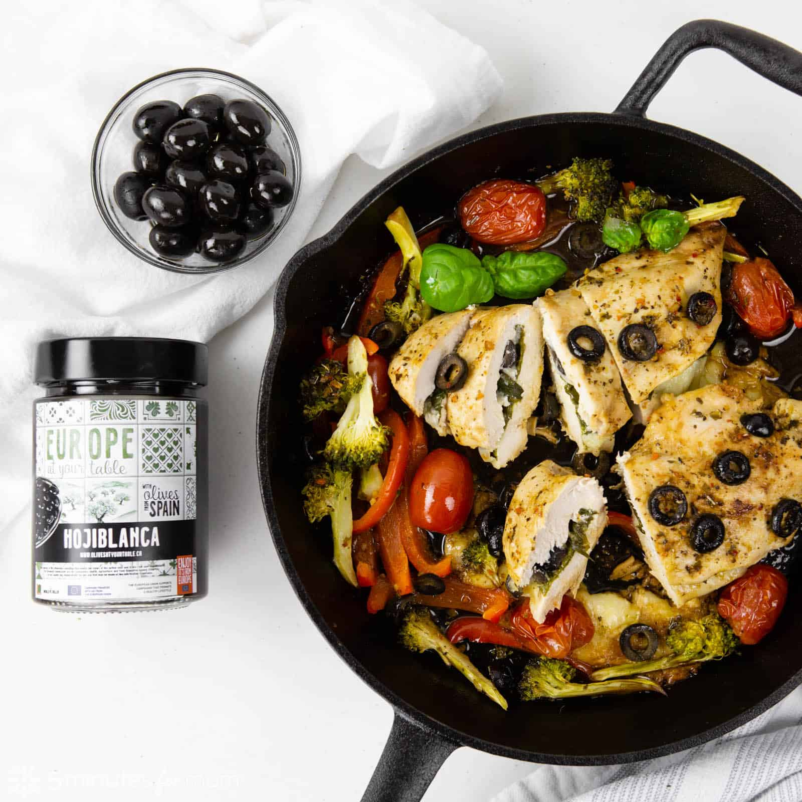 Stuffed Chicken Breasts with Black Olives