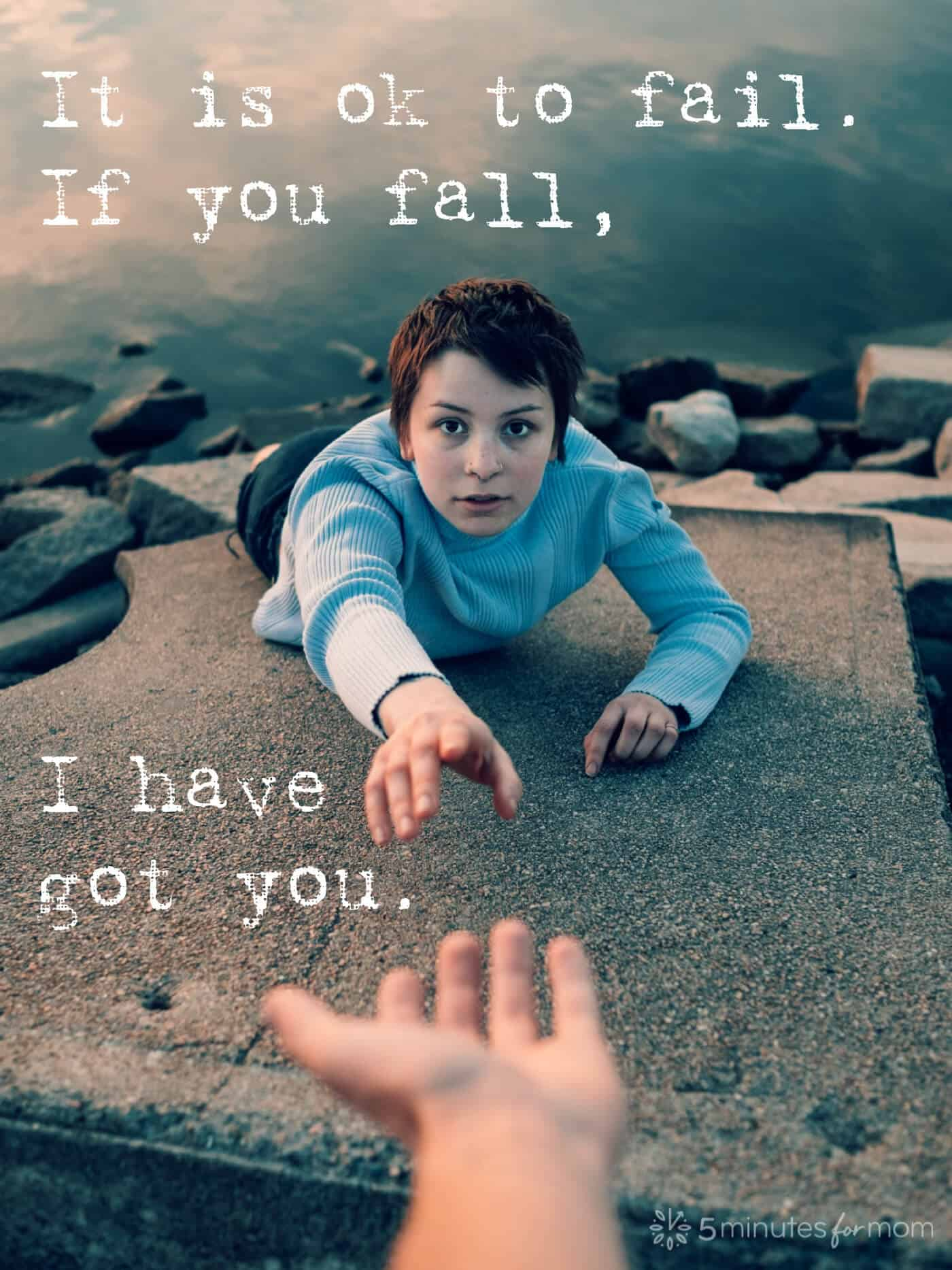 The Myth of Independence - It is okay to fail. If you fall I have got you.